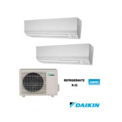 Conjunto 2x1 Daikin 2MXM40M+FTXM20M+25M