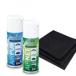 Kit de limpieza para Aire Acondicionado Acondicionador, higienizante y foam